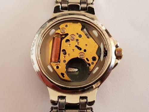 caravelle by bulova date quartz feminino para conserto cx01