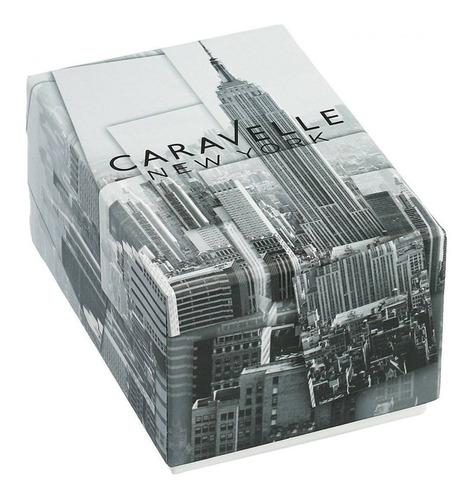 caravelle new york by bulova  mujer 44l117 original inotech