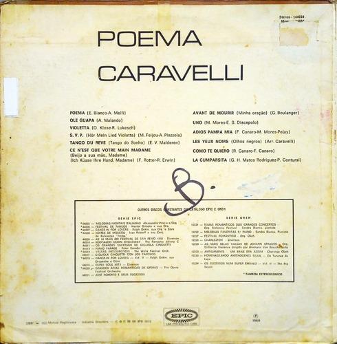 caravelli lp 1969 poema11881