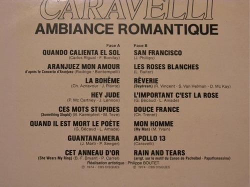 caravelli - lp ambiance romantique* stereo* imp.* smusic