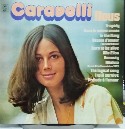 caravelli - nous - 1979 (lp zerado)