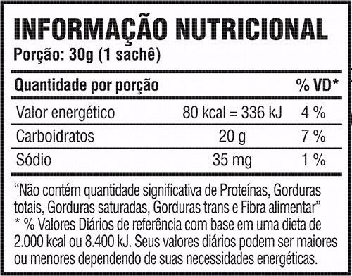 carb up gel caixa com 10 sachês - probiótica - açaí c/ guara