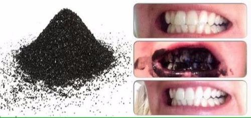 carbon activado de coco 120g dientes, cara, axilas