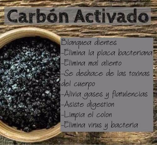 carbón activado de coco