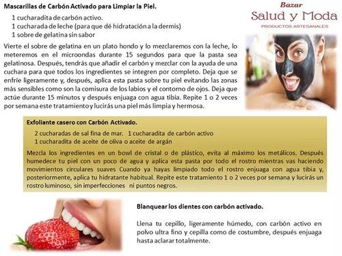 carbon activado grado cosmetico