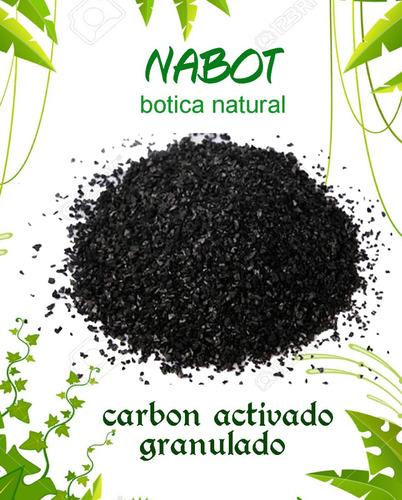 carbon activado granulado kilo (filtrar agua)