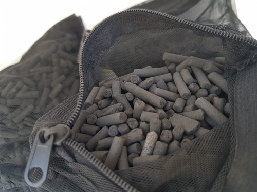 carbón activado máxima absorción 1kg  acuario filtracion