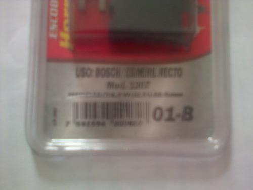 carbon coninca 01b modelo 1207 esmeril recto bosch