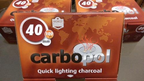 carbon para hookah importado
