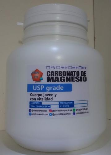 carbonato de magnesio - kg grado alimenticio