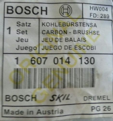 carbones  esmeril 7 pulgadas dewalt black&decker bosch skil