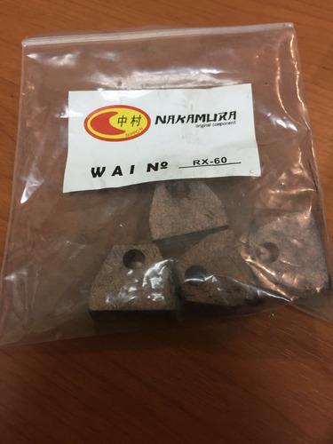 carbones juego arranque chevrolet fx-60 rx60 10mt