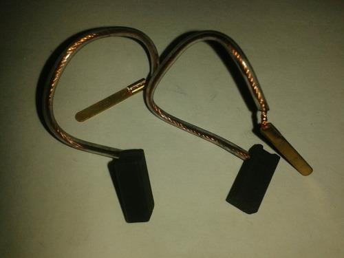 carbones (par) escobilla para  lijadora de mano dewalt