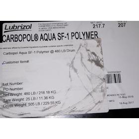 Carbopol Aqua Liquido Cilindro 218 Kg