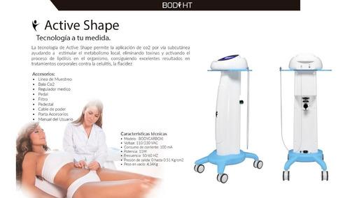 carboxiterapia-active shape ,equipos para estética