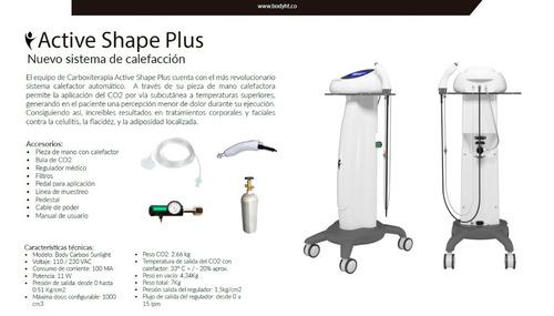 carboxiterapia-active shape plus,equipos para estética