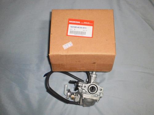 carburador completo biz-100 2013 novo original  honda