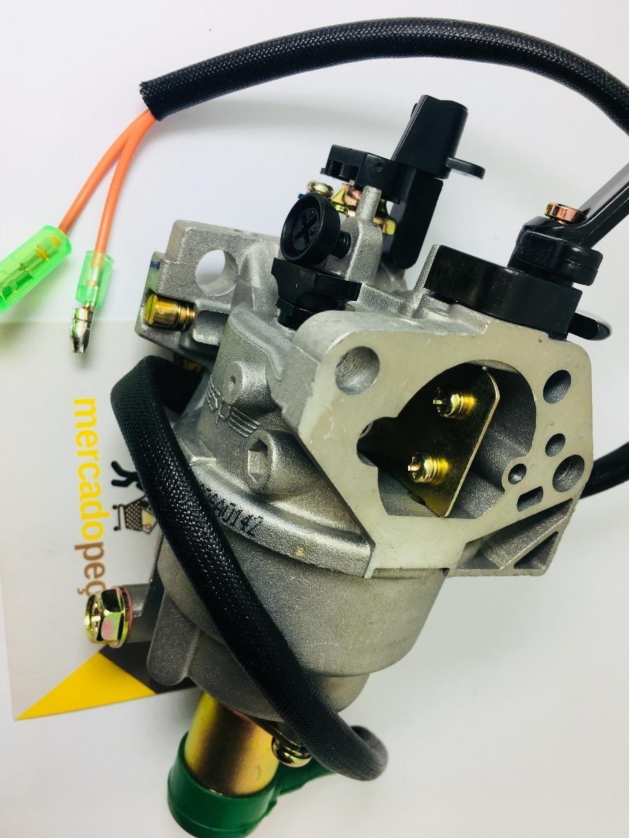 0845eff95b5 Carburador Completo P  Motor Ou Gerador Energia 13 - 15 Hp - R  214 ...