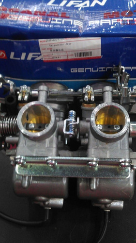 carburador doble zanella patagonia 250 cilindros en linea