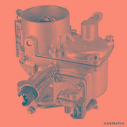 carburador esquerdo autostar kombi 1957 a 2013