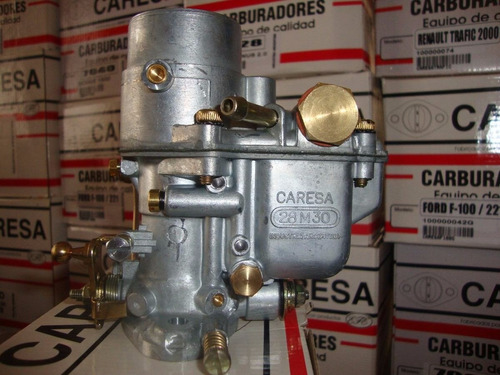 carburador fiat 600 / 750 weber 1 boca 28mm caresa