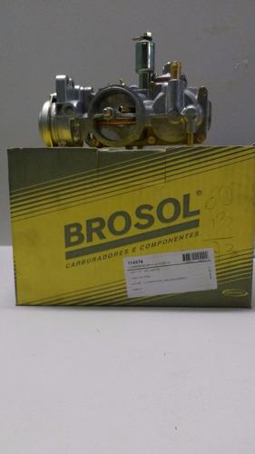 carburador fusca mtr 1.6 gas lado esquerdo alcool 93/...