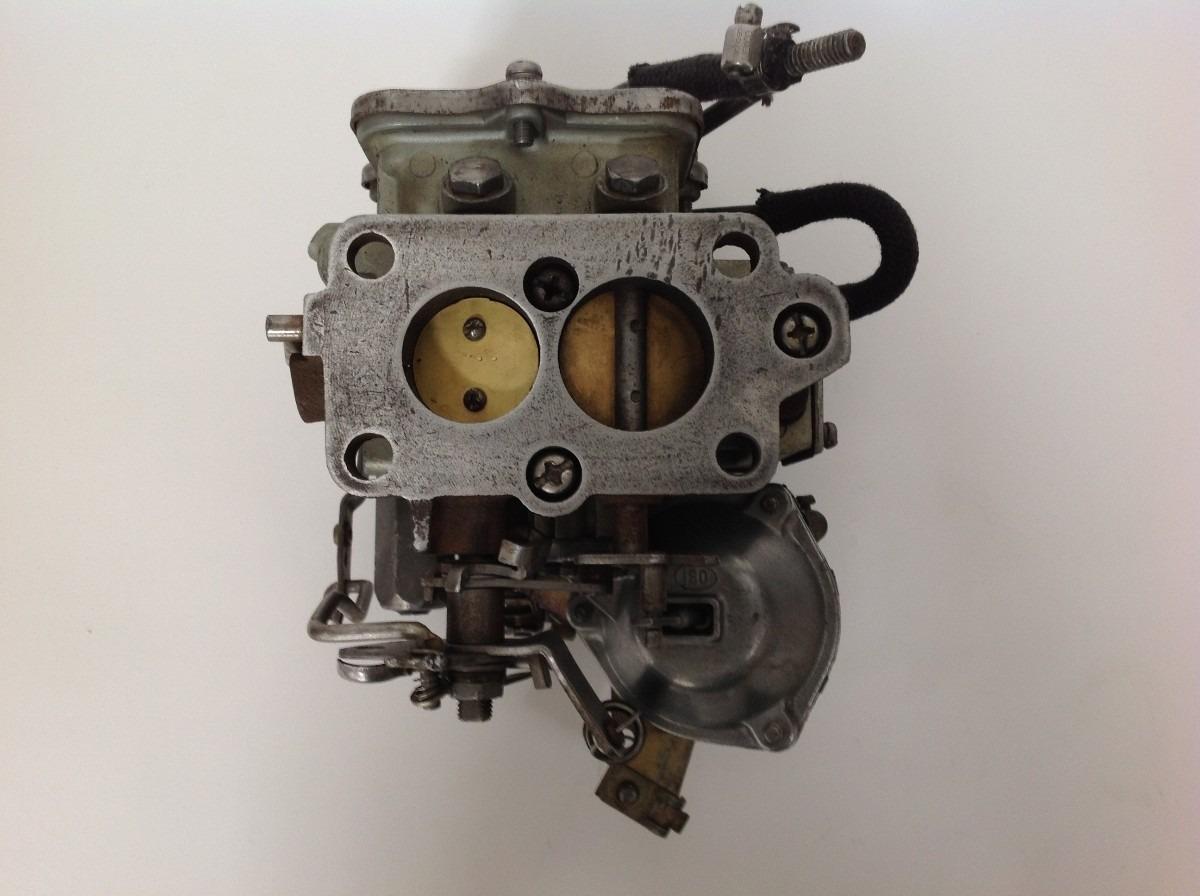 Carburador Hitachi 2 Gargantas Remanufacturado Datsun 1800 ...