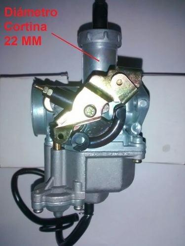 carburador honda cg 125 con bomba adaptable 110 - sti motos