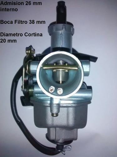 carburador honda cg 125 sin bomba p adaptar 110 - sti motos