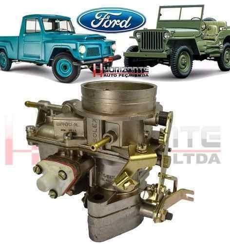 carburador jeep pick up f100 rural solex h40 deis à alcool