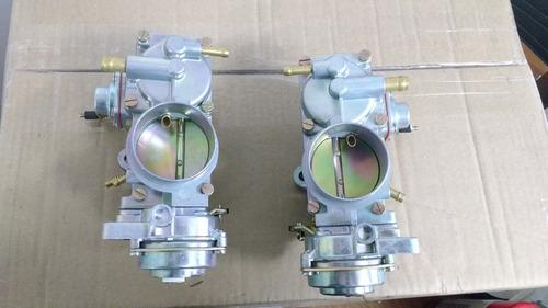carburador kombi, brasilia fusca duplo solex h32/34 pdsi2
