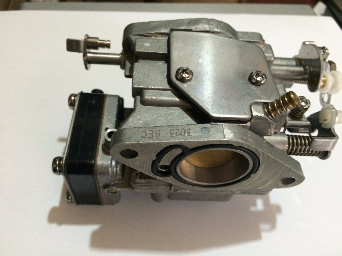 Evinrude 15 Hp >> Carburador Motor De Popa Mercury Super 15hp - R$ 895,00 em ...