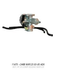 carburador nxr125 2003 a 2005