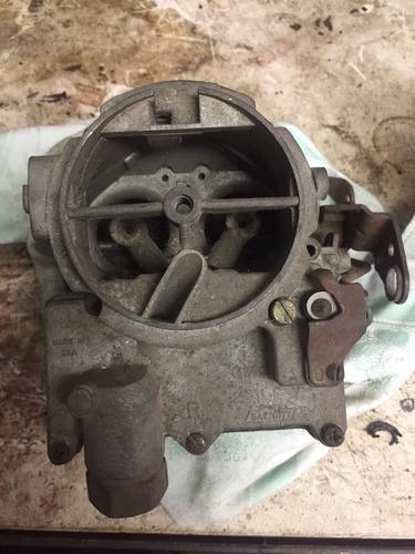 carburador pé de ferro v8 265 283 327 350 chevrolet