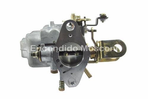 carburador renault 12 18 tipo weber 1 boca + base adaptadora