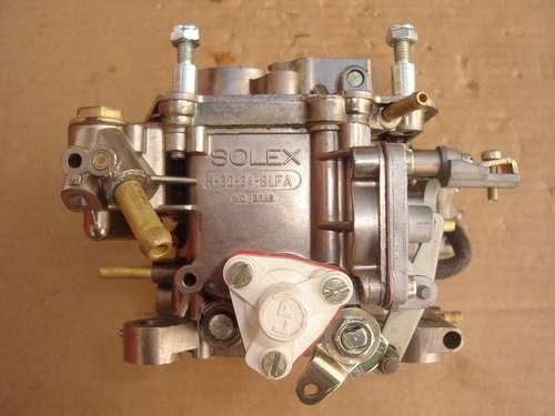 carburador solex 30/34 blfa p/ escort, verona e escort hobby