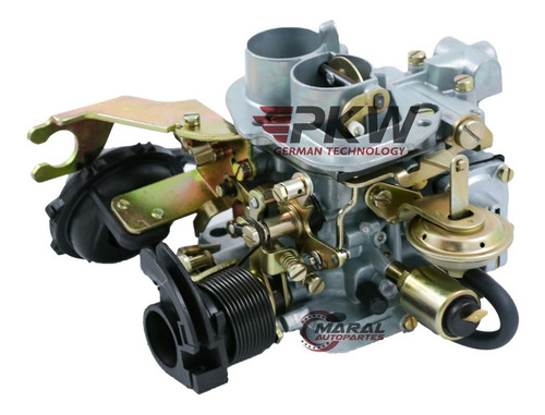 carburador vw gol gacel 1.6 motor audi tipo weber 2 bocas