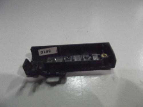 carcaça acabamento leds notebook itautec infoway w7430 w7435