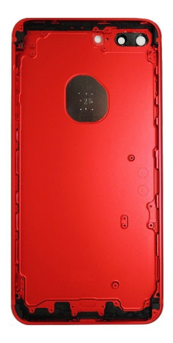 carcaça aro chassi tampa traseira iphone 7 7g plus 5.5