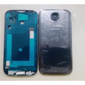Carcaça +aro Cromado Tampa Traseira Galaxy S4 L9500 L9505