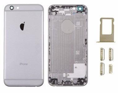 carcaça aro iphone 6 6g chassi 4.7 tampa traseira