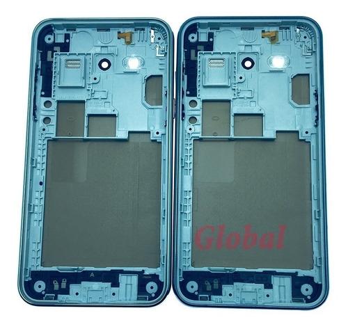 carcaça aro tampa traseira botões celular  j5 j500 original