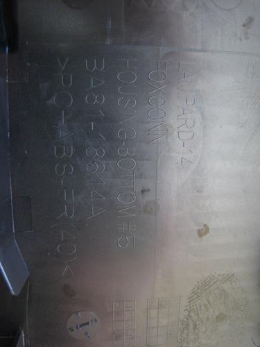 carcaça base chassi inferior samsung np270e4e - original