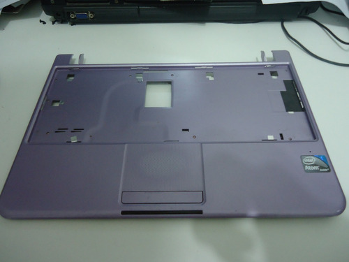 carcaça base do teclado c/touchpad netbook philco 10b séries