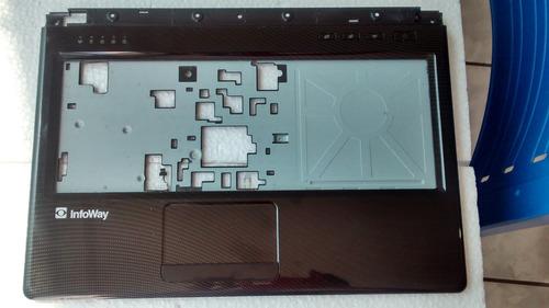 carcaça base do teclado itautec a7520 w7535
