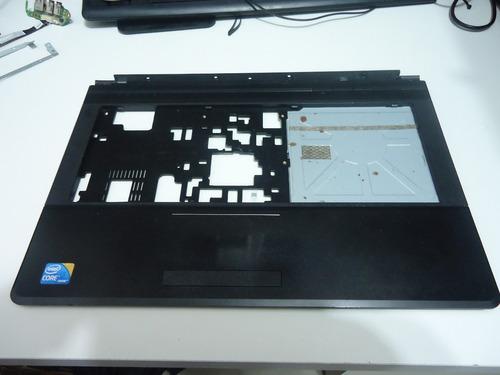 carcaça base do teclado notebook positivo sim + 6175 séries
