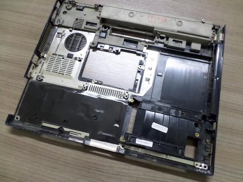 carcaça base inferior notebook hp compaq nx6320