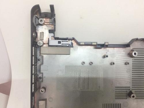carcaça base inferior notebook msi u100x