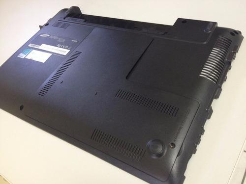 carcaça base inferior notebook samsung rv415