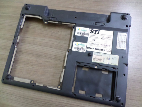carcaça base inferior notebook semp toshiba is-1522